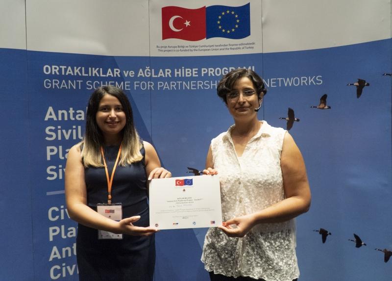 Antalya'nın AB Destekli Tek Kent Ağı Projesi SivilAnT® Geleneksel 4'ncü SivilAnT® Günleri ile Proje Kapanışını gerçekleştirdi.